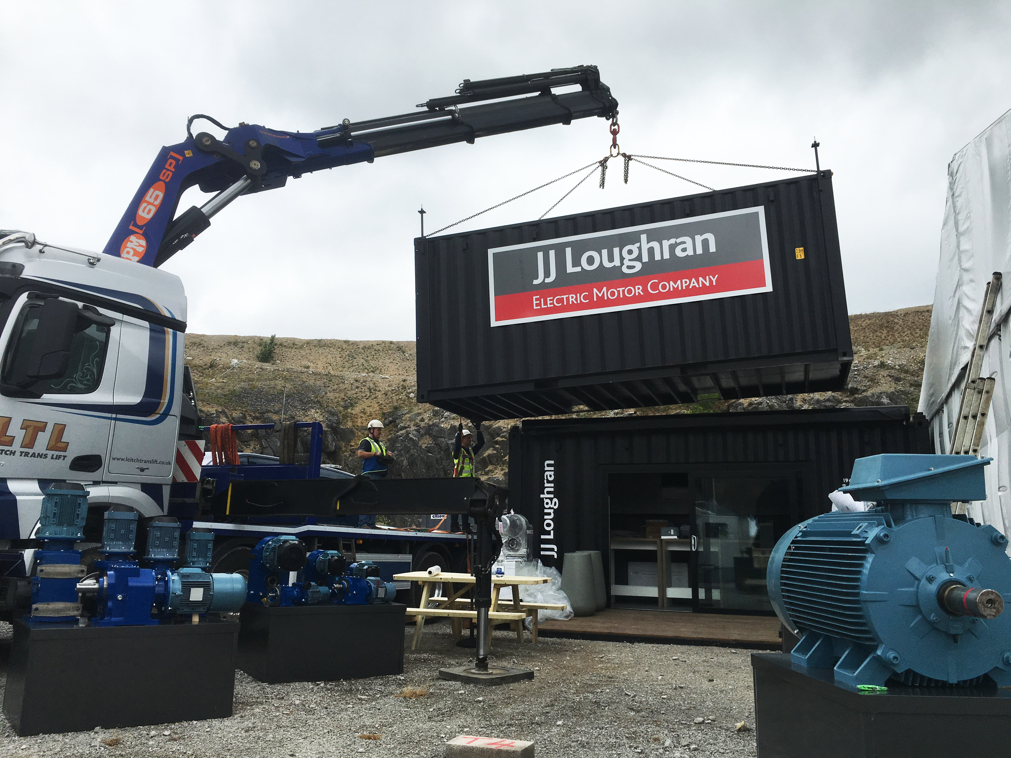 Home Jj Loughran Electric Motors Gearboxes Ventilation Inverters Fan 16 Pedestal Stainless Steel Of Come Visit At Hillhead 2018 Stand T4