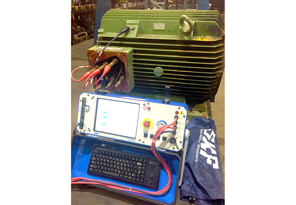 jj loughran purchase new skf baker static motor analyser jj jj loughran purchase new skf baker static motor analyser