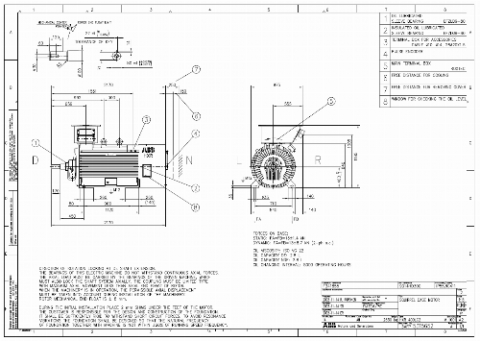 ABB Squirrel Cage Motor