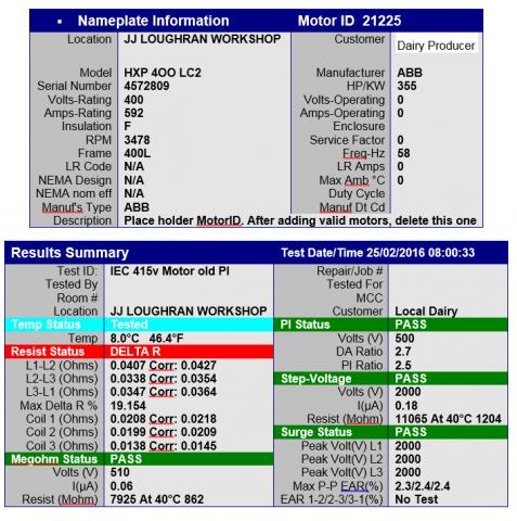 abb motor results